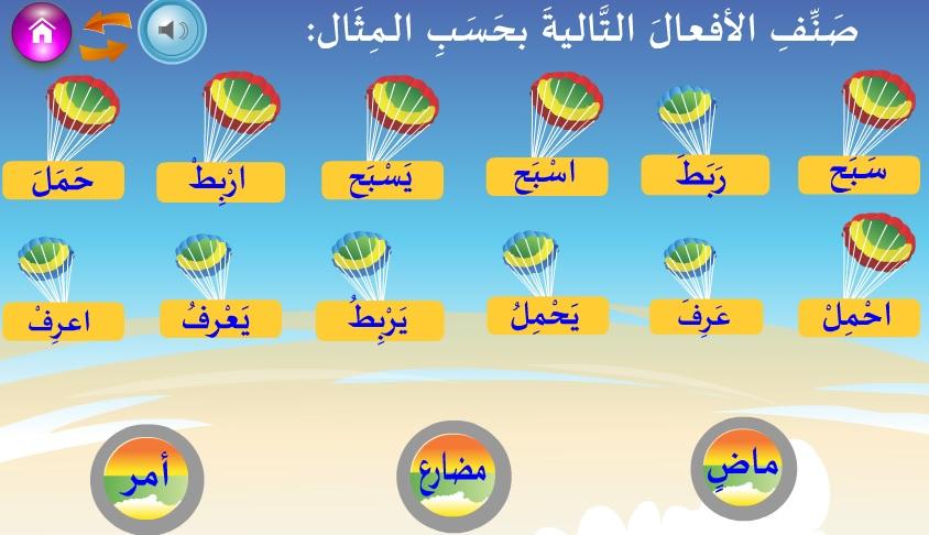 Arapça Fiilleri Sınıflandırma Oyunu