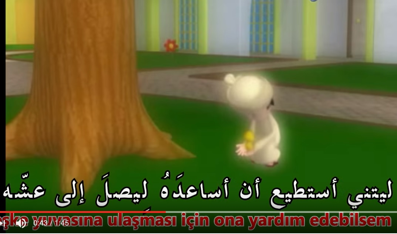 Güzel Bir Rüya – Arapça Türkçe Altyazılı Çizgi Film