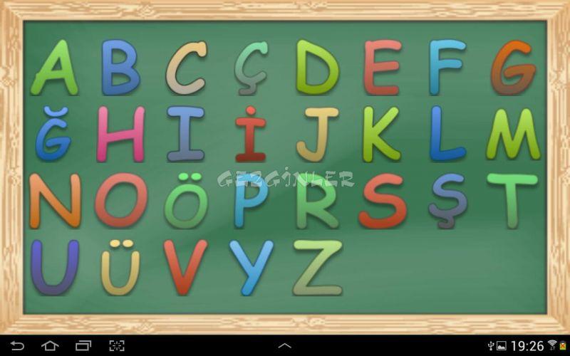 تعلم اللغة التركية مجاناً المستوى الأول الدرس الاول- الأحرف التركية