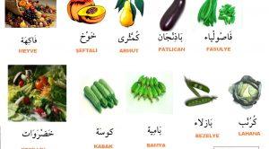 Arapçada Yiyecekler-Resimli