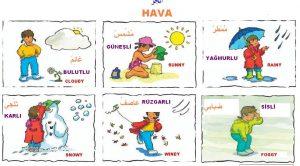Arapçada Hava Durumları