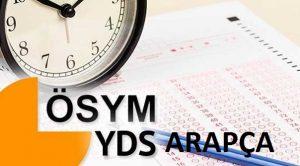 Yds Arapça 2017 (İlkbahar) Pdf İndir