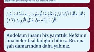 Kuran-ı Kerim'den dua ayetleri indir slayt şeklinde